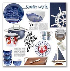 """Summer World"" by keri-cruz ❤ liked on Polyvore"