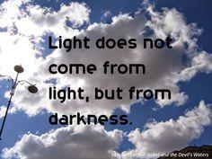 UNIVERSEBOOKBLOG: Light quotes