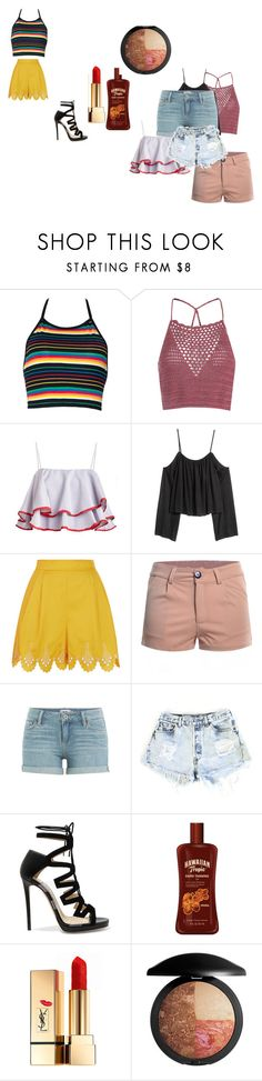 """""""mbikgmjf"""" by motherlee on Polyvore featuring Glamorous, Temperley London, Paige Denim, Levi's, Jimmy Choo and Yves Saint Laurent"""
