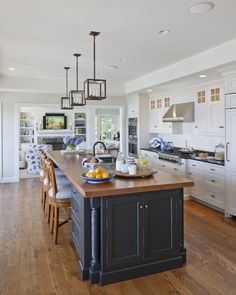 Chatham, MA coastal style kitchen design by SLC Interiors. Click to shop the look.