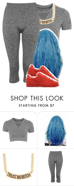 """coolin✨"" by jchristina ❤ liked on Polyvore featuring interior, interiors, interior design, home, home decor, interior decorating, Topshop and adidas Originals"