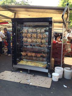 Finger lickin' good. Market at Place de la Bastille