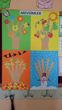 Seasons classroom activities