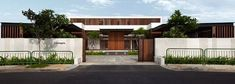 Enclosed Open House by Wallflower Architecture + Design: Spacious contemporary house in Singapore strikes a balance between privacy and openness Shipping Container Home Designs, Container House Design, Singapore House, Patio Interior, Courtyard House, Courtyard Ideas, Open House, House 2, Modern Architecture