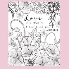 Top 10 Free Printable Bible Verse Coloring Pages Online | Pinterest ...