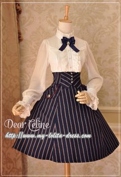 IMPORTANT New Release: Dear Celine ❤✏~Autumn Academy~✍❤ Lolita OP/Coat, Skirt and Blouse >>> http://www.my-lolita-dress.com/newly-added-lolita-items-this-week/dear-celine-autumn-academy-lolita-op-coat-skirt-and-blouse [Let's be a pretty princess in school ♚♛]