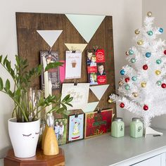 13 Cool Ways to Display Your Christmas Cards