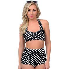 Girl Polka Dotted Bikini