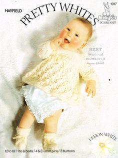 Hayfield 1917 vintage baby knitting pattern  https://www.facebook.com/groups/463649903783886