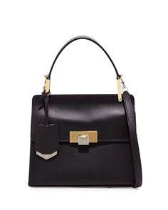 87fa6eaf65 Balenciaga Le Dix Cartable Flap Satchel Bag