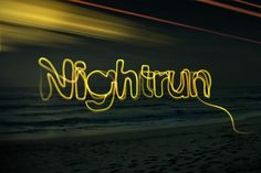 when the sun goes down....that's when the adventure begins! love running at night!