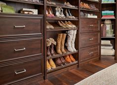 Love shoes but need more storage for them? Check out shoe storage options for #SpaceCreations now!