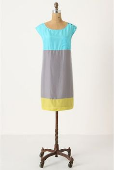 Happy colors! Mint and yellow linen