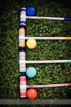 Croquet, lawn games