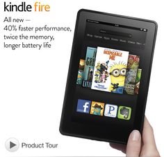 Now that the iPad mini price has been announced. The Kindle Fire is selling like hotcakes. Only $159 at Amazon.