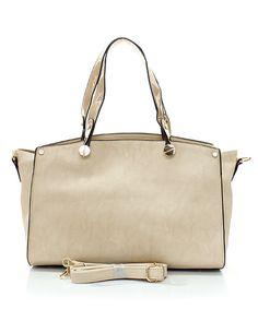 Soft Sand Misha Satchel | Awesome Selection of Chic Fashion Jewelry | Emma Stine Limited