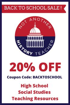Get 20% off back to school resources for distance learning for AP Government, US Government, Personal Finance, Sociology, and US History. Save time with a whole course available on Google Drive! #notanotherhistoryteacher #apgovernment #sociology #civics #ushistory