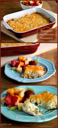 This easy hashbrown casserole is perfect any time of day! | The Weary Chef