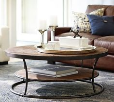 Bartlett Reclaimed Wood Coffee Table #potterybarn