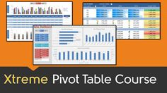 FREE EXCEL PIVOT TABLE COURSE >> Click to learn now: https://www.myexcelonline.com/138-2.html