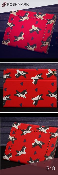 ❣ 🐶doggie iPad case 1/2/3🐶 ❣ 🐶doggie iPad case 1/2/3🐶 Free screen protector is included!!😁 Accessories Tablet Cases