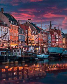 Denmark Europe, Visit Denmark, Copenhagen Denmark, Albert Einstein Photo, Little Mermaid Statue, Scandinavian Countries, City Buildings, Scenery, Tours