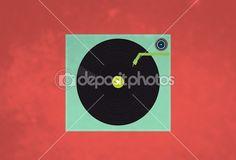 #tocadiscos #depositphotos #vector #ilustracion #musica