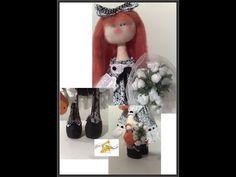 Boneca Lily - PAP Cabelo longo/franja - YouTube