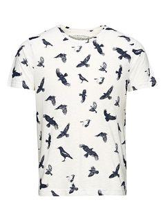 ORIGINALS by JACK & JONES - T-Shirt von ORIGINALS - Regular fit - Rundhalsausschnitt - Komplett bedruckt - Das Modell trägt Größe L und ist 187 cm groß 65% Polyester, 35% Baumwolle...