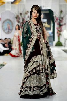 Pakistani Designers Bridal Dress Ideas