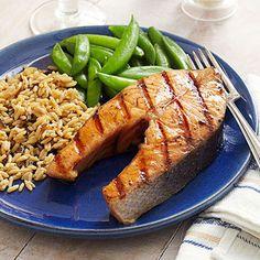Honey-Bourbon Salmon