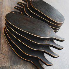 """Большая черная разделочная доска """"КРАФТ-6"""" в магазине «ARTFANTASY» на Ламбада-маркете Cuff Bracelets, Boards, Planks"""