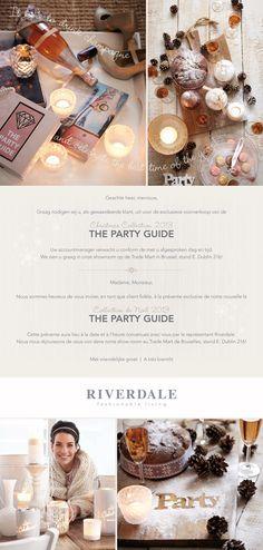 Ontwerp Uitnodigingen VIP RIVERDALE kerst 2013