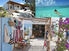 Shop l Ibiza Menorca, Ibiza Formentera, Ibiza Travel, Spain Travel, Ibiza Strand, Beautiful Islands, Beautiful Places, Places To Travel, Places To Go
