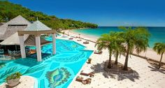Sandals La Toc in St. Lucia, Caribbean - destination weddings in the #Caribbean @luxdestweds