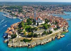 Rovinj, Rovigo,Istra - CroVista.com