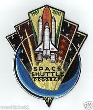 "ORIGINAL - NASA - SPACE SHUTTLE PROGRAM - 1981 - 2011 / 5"" PATCH - MINT**"