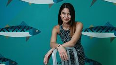 Inspirational Woman entrpreneur. Melanie Perkins, CEO of Canva, at the company's office in Sydney. Picture: Britta Campion