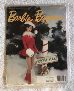 """Barbie Bazaar — The Barbie Collector's Magazine! November / December 1990 This issue has marvelous articles. The magazine is still in its original mailing wrapper. Address label is on the magazine. 27 years old and in great shape!!! Great articles covering all Barbie dolls. Lots of excellent photos! Great reference magazines! DISCLAIMER: These magazines were purchased from a local sale, so the storage environment is unknown. Sold """"As Is"""". No International Sales, unless via Glob..."""
