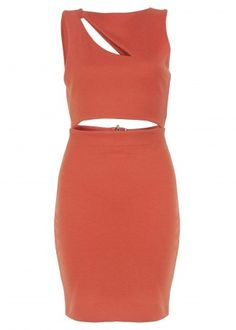 Hedonia Coral Felicity Dress