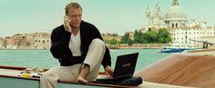 Sony Vaio laptop used by Daniel Craig in CASINO ROYALE (2006) @sonyelectronics