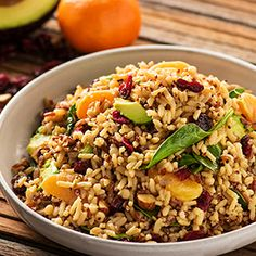 UNCLE BEN'S® Easy Rice Recipes   Spinach, Almond and Clementine 5 Grain Quinoa Salad
