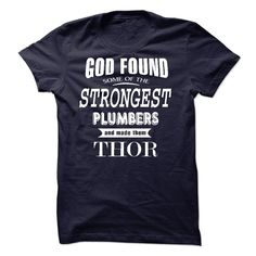 (Tshirt Coupons) The best Thor-Plumbers [Guys Tee, Lady Tee][Tshirt Best Selling] Hoodies, Funny Tee Shirts