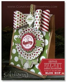 Pop & Place Gift Bag