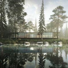 CGi - NEAR THE LAKE on Behance