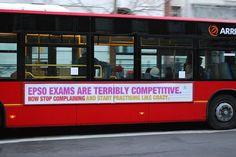 EU careers bus in London