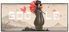 Hoy se celebra el nacimiento de  Tamaki Miura, en Japón.  Doodles de Google  Me encanto este doodle, aquí se los comparto.