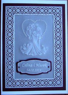 свадебная открытка в технике пергамано Parchment Design, Wedding Shower Cards, Paper Art, Paper Crafts, Marriage Cards, Parchment Cards, Wedding Cards Handmade, Engagement Cards, Wedding Anniversary Cards