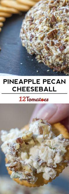 Pineapple Pecan Cheeseball