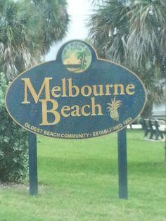 Life's a Beach. In Melbourne Beach, Florida! Indialantic Florida, Melbourne Beach Florida, Melbourne Area, Florida Trips, Moving To Florida, Florida Style, Florida Travel, Florida Beaches, Florida Sunshine
